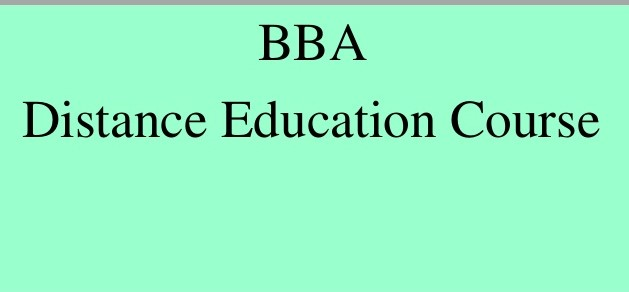 Benefits of pursuing Distance BBA Course